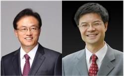 해동상 수상자로 선우명호 한양대 교수(왼쪽)와 이석봉 대덕넷 대표(오른쪽)이 선정됐다.  - 한국공학한림원 제공
